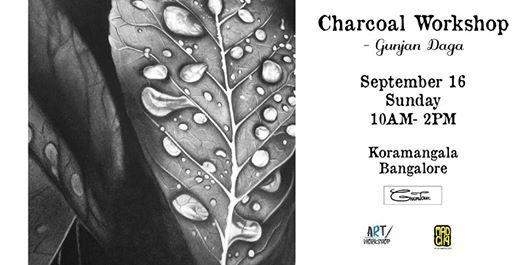 Charcoal Art Workshop by Gunjan Daga