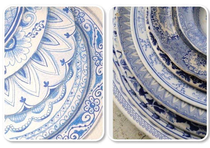 Zentangle Class Delft Delights