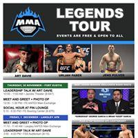 MMA Visit Legends Tour