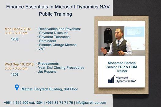 Finance I in Microsoft Dynamics NAV & Jet Reports