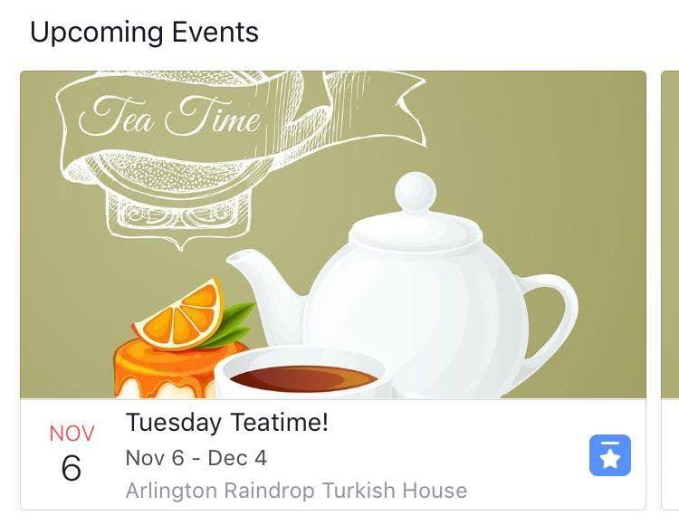 Tea Time Tuesdays