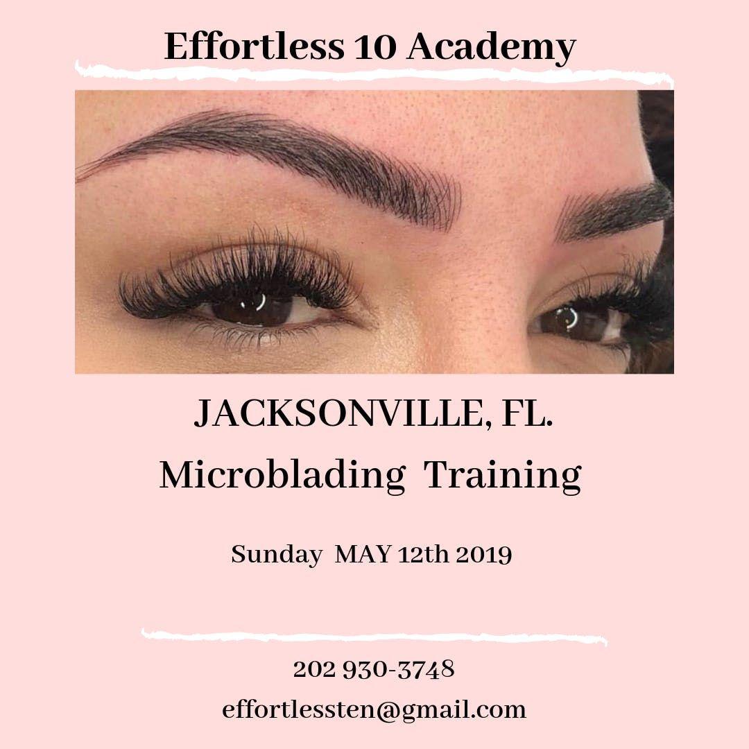 Effortless 10 Microblading JAX Training at Jacksonville