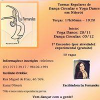 Turmas Regulares de Dana Circular e Yoga Dance em Niteri.