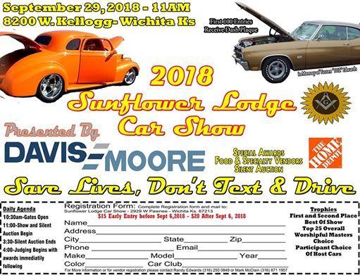 Sunflower Lodge Car Show 2018