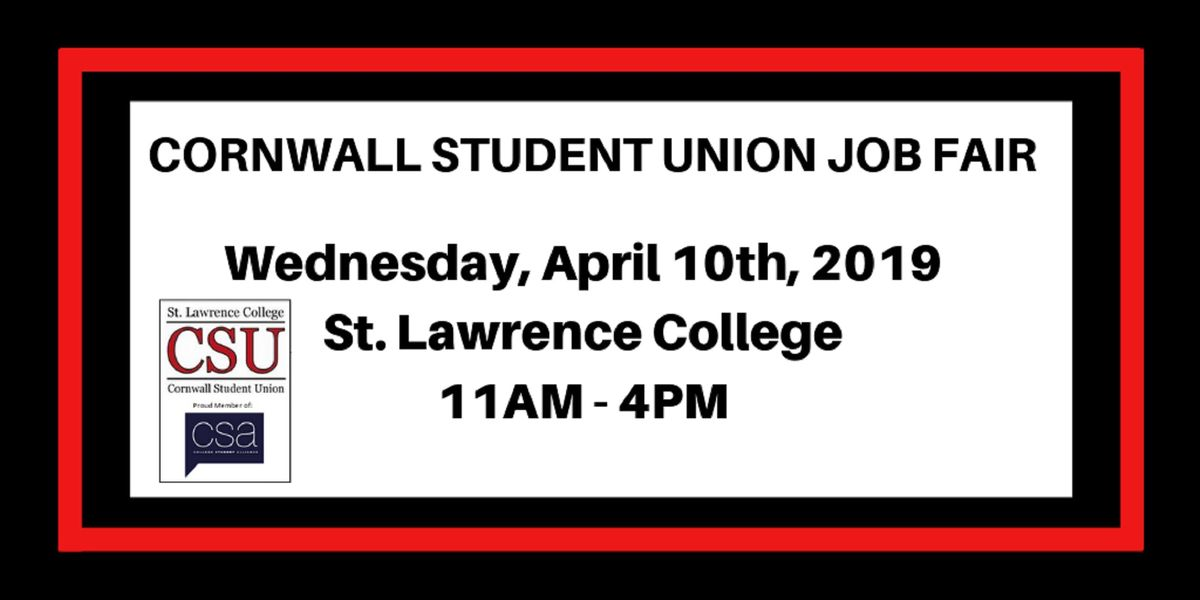2019 Student Job Fair