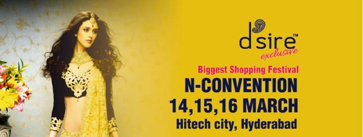 Dsire Exhibition at N-Convention Hyderabad