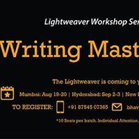 Lightweaver Writing Masterclass Delhi
