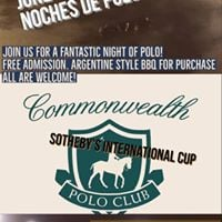 Noches de polo  Sothebys international cup