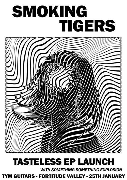 Smoking Tigers instore