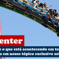 Inaugurao do novo Playcenter em So Paulo