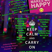 Neon Fitness Every TUESDAYS 7PM UNTIL 8PM3