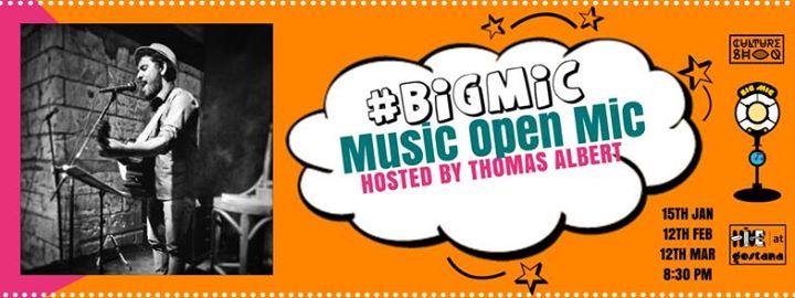 Bigmic Music Open Mic hosted by Thomas Albert