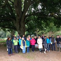 End of year gathering at Poltimore House