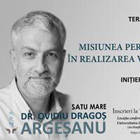 Initieri conferin terapii cu dr. Dragos Argeanu - SATU MARE