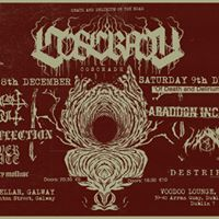 Coscradh &quotOf Death And Delirium&quot EP launch - Galway DEC 8th