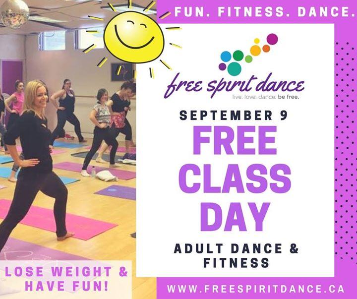Free Class Day at Free Spirit Dance - September 9