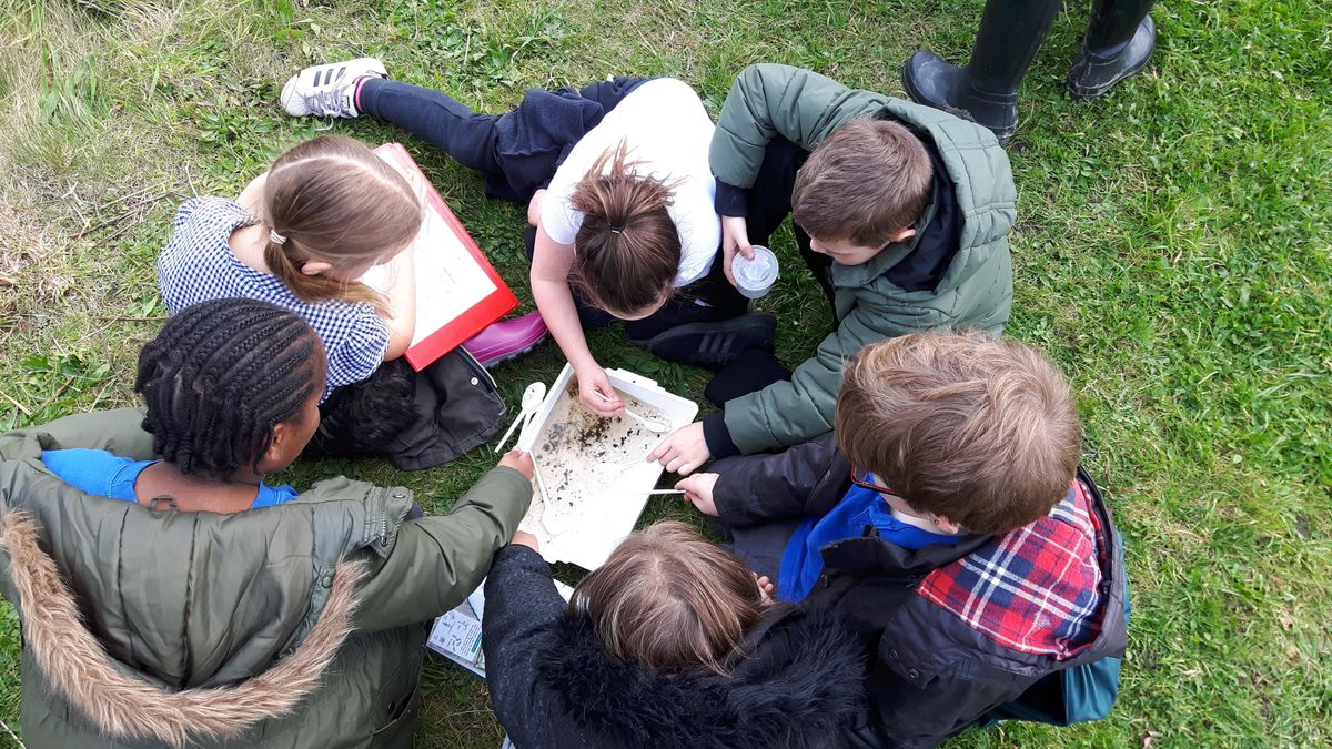 Brook Explorers at Monkey Park