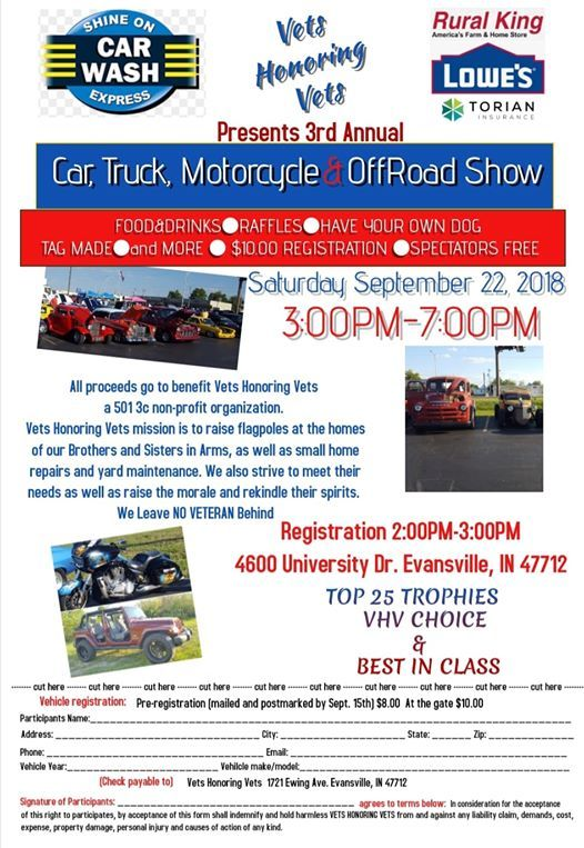 3rd Annual Car, Truck, Motorcycle, And Offroad Vehicle Show