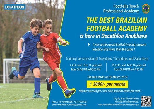 The Best Brazilian Football Academy now on Bellary Road