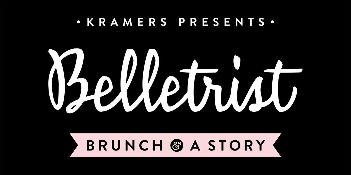 Kramers Presents Brunch & A Story w Belletrist