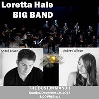 The Loretta Hale Big Band at The Boston Manor