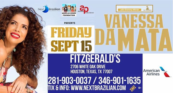 Vanessa Da Mata Houston Concert