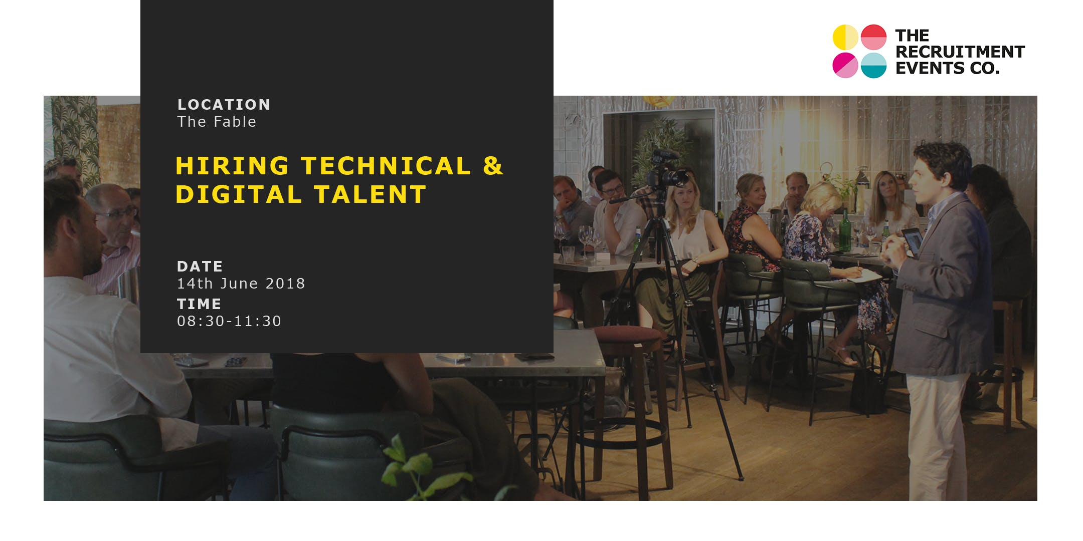 Hiring Technical & Digital Talent - The Recruitment Events Co. June 14th