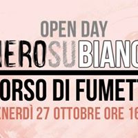 Open Day Nero Su Bianco - Corso di Fumetto