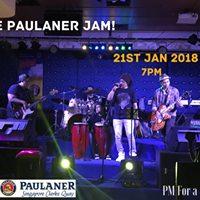 Jammin at Paulaner at Clark Quay