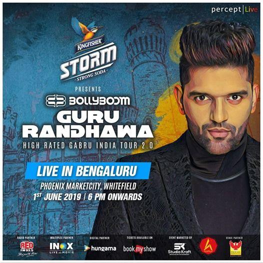Bollyboom Guru Randhawa India Tour 2.0 - Bengaluru