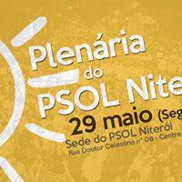 PSOL Niteri  Plenria geral de filiadas e filiados