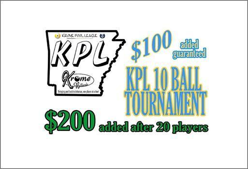 KPL 10 Ball Tournament