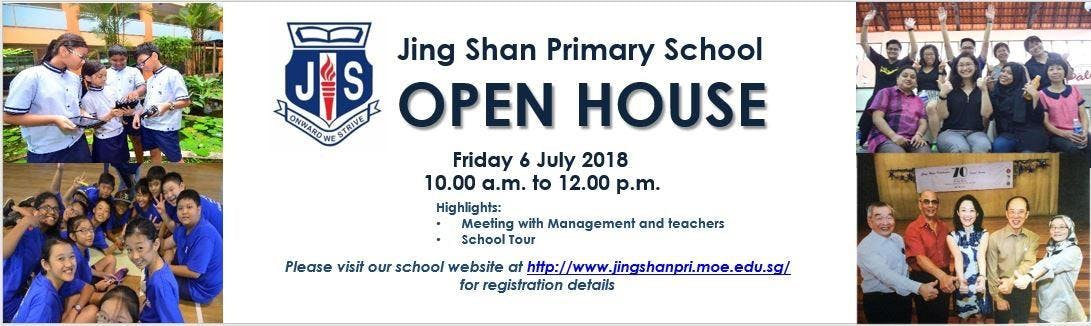 Jing Shan Primary School Open House