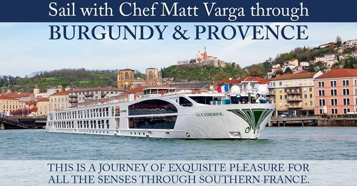 Uniworld River Cruise with Chef Varga Burgundy & Provence 2018