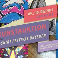 2. Kunstauktion beim T-Shirt Festival Dresden