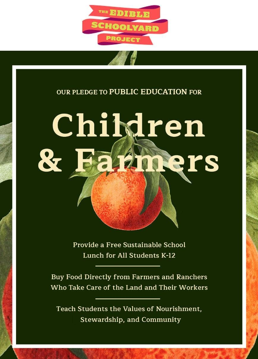 Edible Schoolyard Project Tour