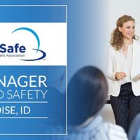 Boise ID ServSafe Manager Food Safety Class and Exam