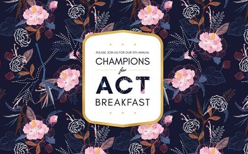 Champions for ACT Breakfast