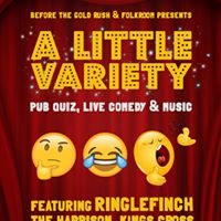 A Little Variety Pub Quiz Live Comedy &amp Music