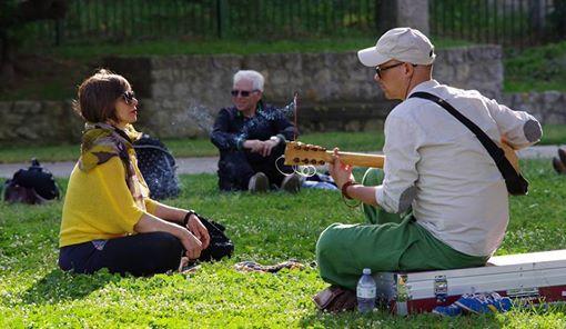 Peregrini a Cagliari camminate meditative