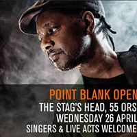 Point Blank presents Phils Open Mic Night