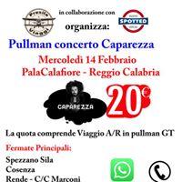 Caparezza Reggio Calabria Pullman Cosenza - Lamezia Terme