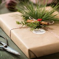Creative Christmas Gift Wrapping Workshop - Derbyshire