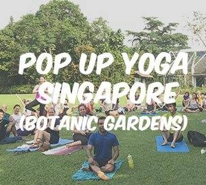 POP UP YOGA Botanic Gardens