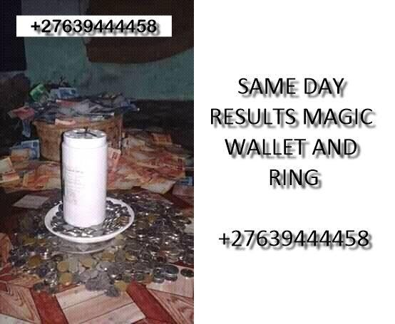SAME DAY RESULTS MAGIC WALLET AND RING