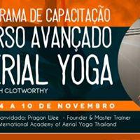 Curso Avanado - Aerial Yoga by Sarah Clotworthy