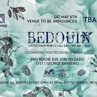 Bedouin (Crosstown Rebels  All Day I Dream) Tickets Sale