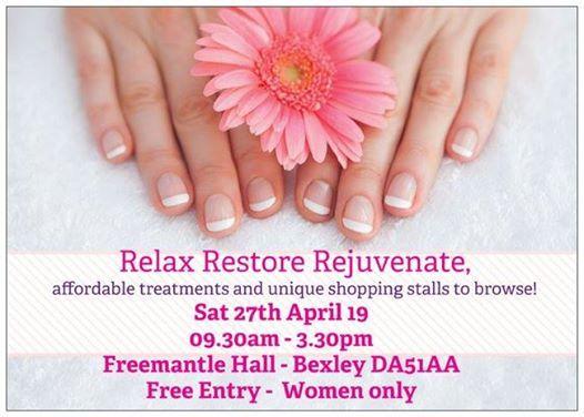 Relax Restore Rejuvenate - Fortnightly Pamper & Shop