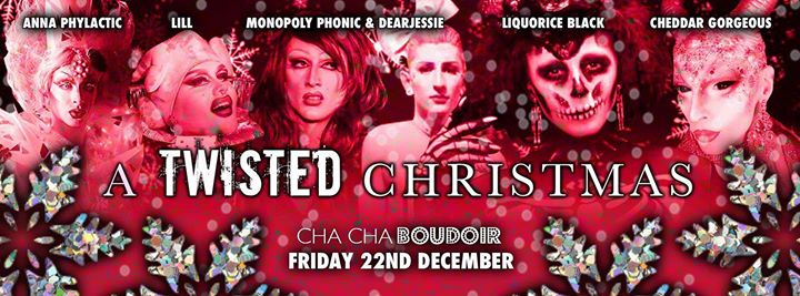 cha cha boudoir a twisted christmas manchester - A Twisted Christmas