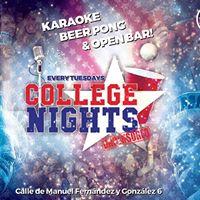College Nights Karaoke Beer Pong &amp Open Bar at Nomad